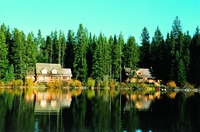 Loon Bay and Little Bear Lodge