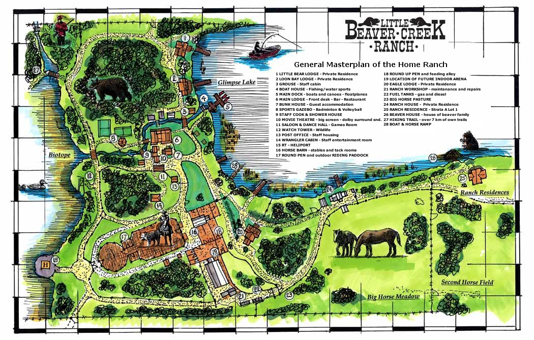 Cattle ranch layout images galleries for Ranch layout
