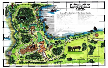 Backyard Homestead Layouts http://www.littlebeavercreekranch.com/beaver_creek_ranch_home.htm